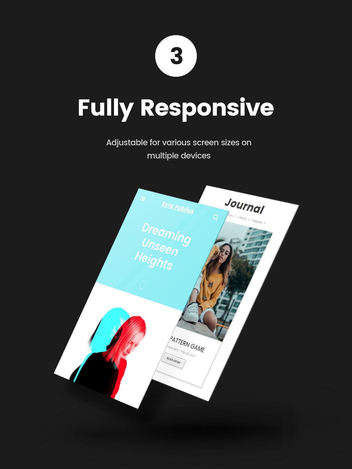 Syra – Minimal Showcase Portfolio WordPress Theme - 3